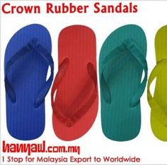 Visit- http://www.hanyaw.com.my/Products/Crown_Rubber_Sandals_CH-201.html