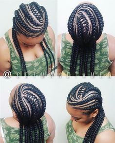 "This service can be booked under ""Feed in braids"" #Bookwithme on #styleseat…"