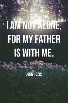 So good to know we are never alone!