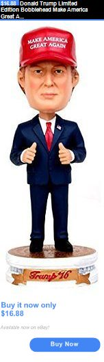 donald trump: Donald Trump Limited Edition Bobblehead Make America Great Again President New BUY IT NOW ONLY: $16.88