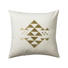 Nate Berkus™ Pyramid Decorative Pillow - White Quick Information. Target.