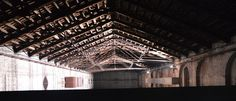 "Biennale Venezia 2017 Italia Pavilion Giorgio Andreotta Calò ""Untitled - The end of the world"" Arsenale (my photo)"