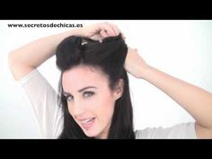 Katy Perry inspired pinup hair style