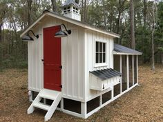 6x8 henhouse with 6x18 run chicken coop More