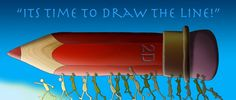 """To preserve traditional hand drawn style and to bring about more awareness in the animation industry long-time animation artists Tony White and J. Schuh have come up with a novel idea a book celebrating and paying homage to traditional 2D animation; """"DRAWN TOGETHER ~ Its Time to Draw the Line"""". #crowdfunding #animation #artbooks"""