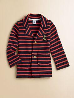 Petit Bateau - Toddler's & Little Girl's Striped Blazer - Saks.com