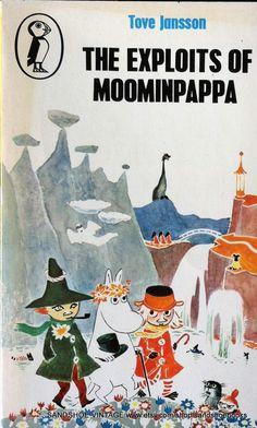 1980 The Exploits of MOOMINPAPPA by Tove JANSSON MOOMIN Book. $6.00, via Etsy.