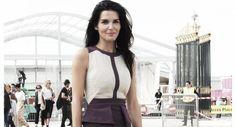 Paris Fashion Week P/É 2014 – Angie Harmon