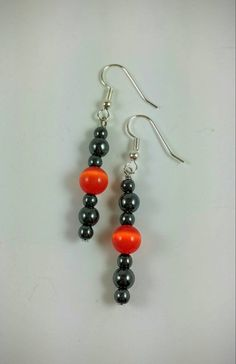 Check out this item in my Etsy shop https://www.etsy.com/listing/249292020/hematite-earrings-black-bead-drop