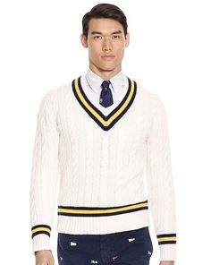 Cotton-Blend Cricket Sweater - Polo Ralph Lauren Polo Ralph Lauren - RalphLauren.com