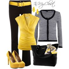 """""""For The Office - #7"""" by in-my-closet on Polyvore... But I don't think I could pull off the heels where I work..."""