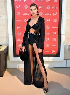 Olivia Culpo Photos Photos - Sports Illustrated Swimsuit Announces Model Search Winners At Encore Beach Club In Wynn Las Vegas - Zimbio
