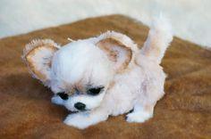 Tiny chihuahua By Tsybina Natali - Bear Pile
