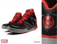 Reebox x Marvel. Red Skull.