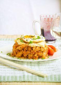 [Fancy Kimchi Fried Rice] + Click For Recipe!  #easy #recipes #asian #korean