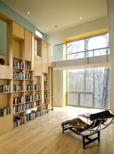 Modern Simple Home Library