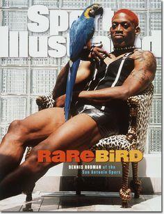 Dennis rodman (rebound king rare bird aka worm)