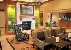 hampton inn lobby - Google Search