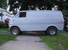 Wrong color and missing a window, but sooo many memories...    1973 Ford E150 Van (SuperVan)