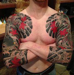 Tattoo by Rodrigo Melo of Northstar Tattoo NYC