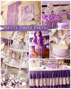 I havent loved purple since I was a (very) little girl, but this would be fun to do with any favorite color