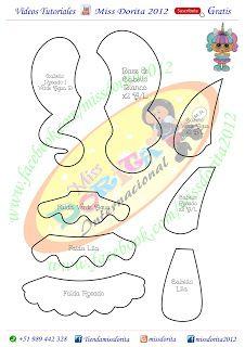 Miss Dorita Quiet Book Templates, Lol Dolls, Punch Art, Handicraft, Pony, Crafts For Kids, Baby Shower, Minions 2, Hello Kitty