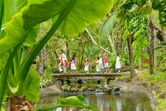 """""""Kids Only"""" Club Hiking at One & Only, Le Saint Geran in Mauritius"""