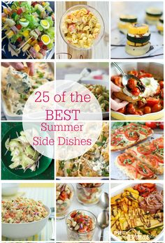 Amazing Summer Side Dish Recipes - Our Thrifty Ideas