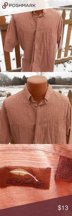 """Bob Timberlake Mens Button Front Shirt Size XL Size xl. 100% cotton. Shoulder to shoulder:22"""". Pit to pit: 25"""". Super gently preowned. Be sure to view the other items in our closet. We offer both women's and Mens items in a variety of sizes. Bundle and save!! Thank you for viewing our item!! Bob Timberlake Shirts Casual Button Down Shirts"""