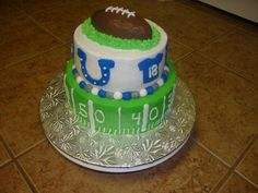 Indianapolis Colts cake - Google Search