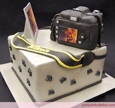 Una tarta con tu Nikon