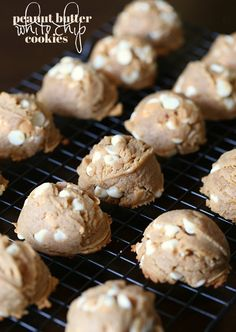Soft Peanut Butter White Chip Cookies