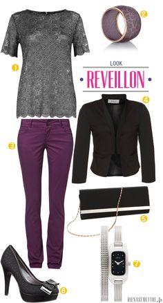 LOOK | SPECIAL REVEILLON 2012 : Femme #2 | femme  | Blog Mode | Rien à se Mettre  www.rienasemettre.fr