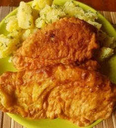 Chicken breast fried in cream cheese coat- Krémsajtos bundában sült csirkemell Chicken breast baked in a cream cheese coat Thyme Recipe – Cookpad Recipes - Fried Chicken Breast, Thyme Recipes, Hungarian Recipes, Other Recipes, No Cook Meals, Food And Drink, Cooking Recipes, Yummy Food, Desserts