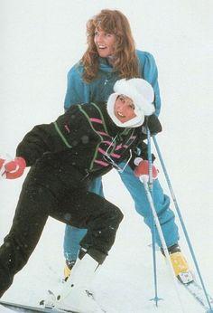 Princess Diana and Sarah Ferguson Royal Holiday