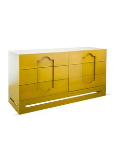 Casablanca Dresser by SHINE by S.H.O on Gilt Home  Six pull-out drawers  Measures 60 inches in length by 19 inches in depth by 31 inches in height