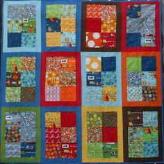 I Spy Ten Little Things Quilt#Repin By:Pinterest++ for iPad#