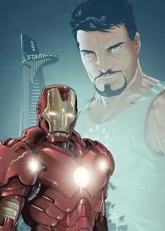 Iron-man by Danny Rhodes