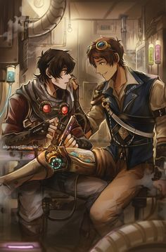 I RLY WANTED TO SEE A STEAMPUNK AU FROM VOLTRON