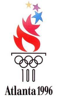 Atlanta 1996 Olympic Logo - www.olympics.org #olympics #atlanta #1996