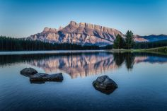 Mt. Rundle Sunrise by Steven Blackmon on 500px