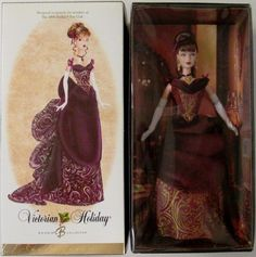 2006 Victorian Holiday Barbie Doll Exclusive ** Click image for more details.