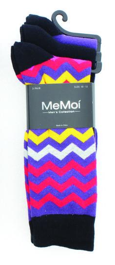 Colorvron Crew 3 pair only &19.99 visit http://store.memoistore.com/mens/all-mens