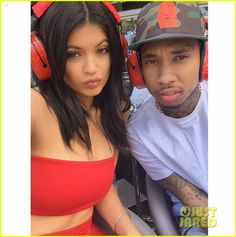 kylie jenner boyfriend tyga go to monaco for the grand prix 04 Kylie Jenner and her boyfriend Tyga pose for a selfie while checking out the Formula One Grand Prix on Sunday (May 24) in Monte Carlo, Monaco.    The 17-year-old…