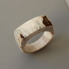Antler ring Size 105 US Antler jewelry Bone ring by BDSartRINGS