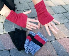Zara Outfit, Wrist Warmers, Tunisian Crochet, Crochet Toys, Fingerless Gloves, Knitting Patterns, Sewing, Simple, Bonnets