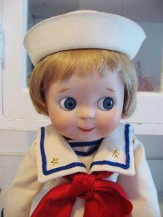 Vintage Kestner JDK #221 Googly Eyed Antique Reproduction Doll