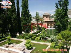 Các mẫu thiết kế sân vườn biệt thự đẹp đẳng cấp
