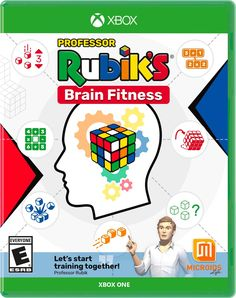 Professor Rubik's Brain Fitness Game Release Dates, Xbox One, Cover Art, Professor, Ps4, How To Find Out, Brain, Dating, Fitness