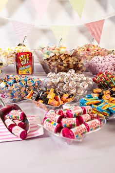 A Chewbz Retro Sweet Buffet can make a delicious addition to weddings, parties or any other event that needs a touch of sweetness!